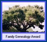 Family Genealogy Award