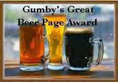 Gumby's Great Beer Page Award