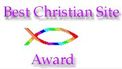 Soul to Soul Best Christian Website Award