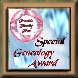 SPECIAL GENEALOGY AWARD