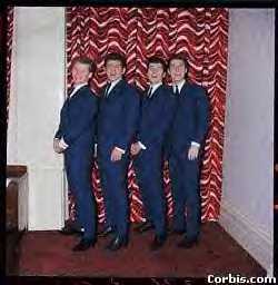 In Front of the Curtains - John McNally, Tony Jackson, Mike Pender & Chris Curtis