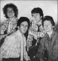 1980's B&W Photo of Billy Adamson, Frank Allen, Mike Pender & John McNally