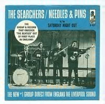 US Cover for Needles And Pins/Saturday Night Out single