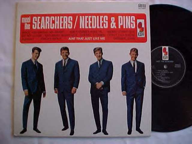 Meet The Searchers/Needles And Pins - Us Album