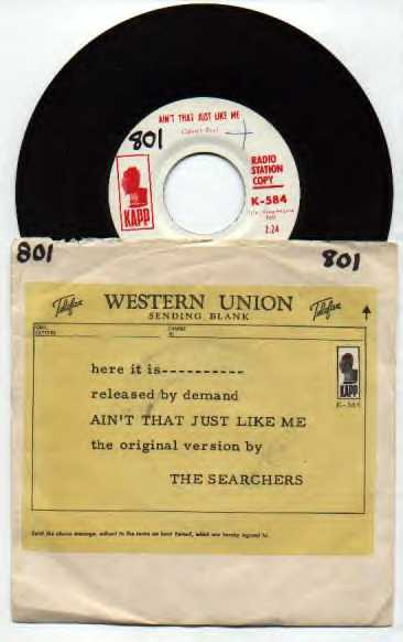 Ain't That Just Like Me - US radio station copy