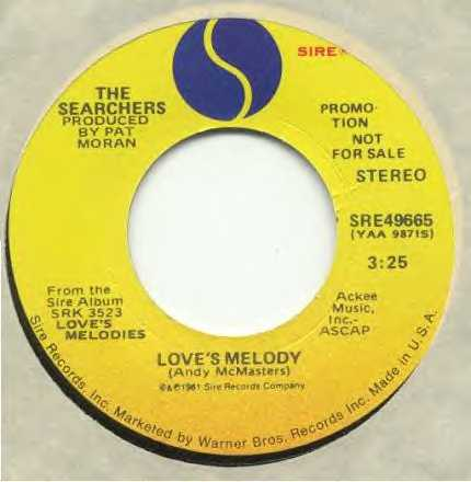 Love's Melody - US DJ promo copy