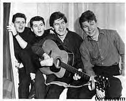 March 1964 - Tony Jackson, Mike Pender, Chris Curtis & John McNally