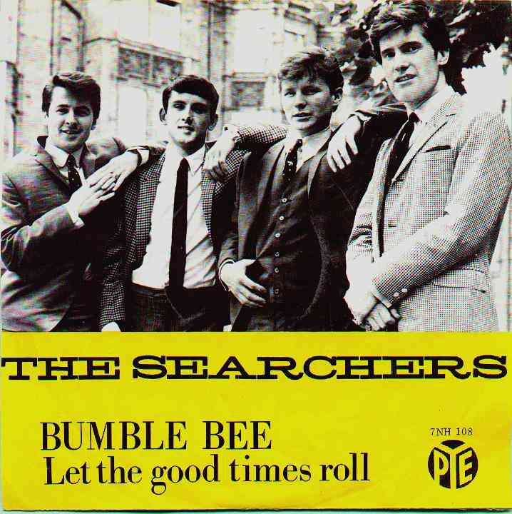 Bumble Bee/Let The Good Times Roll - Dutch single