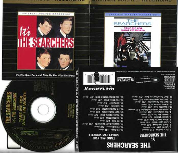 It's The Searchers/Take Me For What I'm Worth (Double CD)
