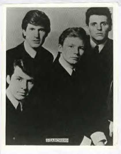 Black & White Photo - Mike Pender, Chris Curtis, John McNally & Tony Jackson